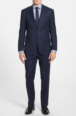 Michael Kors - Trim Fit Wool Suit