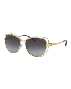 Michael Kors - Wire-Rim Gradient Cat-Eye Sunglasses