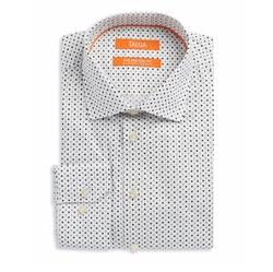 Tallia Orange - Patterned Dress Shirt