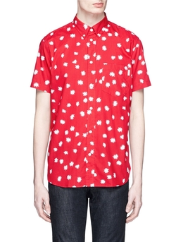 Paul Smith Jeans - Spark Print Poplin Shirt
