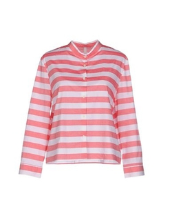 Aglini - Button Front Stripe Shirt
