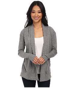 Alternative  - Eco Jersey Rib Sleeve Wrap Cardigan