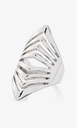 Express - Cut-Out Chevron Ring