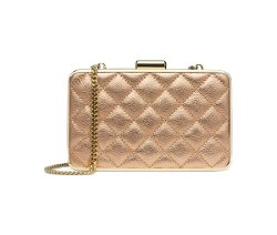 Michael Michael Kors  - Elsie Quilted Box Clutch Bag