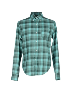 Band Of Outsiders - Checked Design Sport Shirt