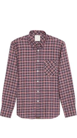 Billy Reid - Walland Plaid Sport Shirt