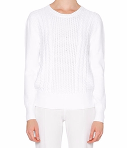 Callens - Long-Sleeve Cable-Knit Sweater