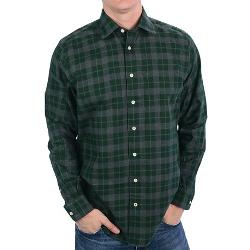 Fairway & Greene  - Brushed Cotton Plaid Shirt