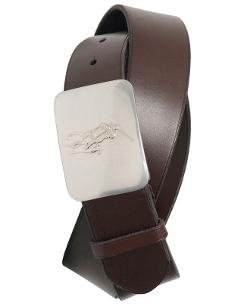Polo Ralph Lauren - Pony Plaque Leather Belt