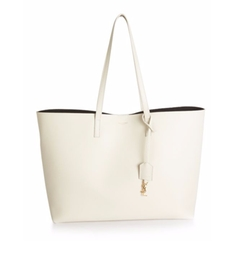 Saint Laurent - Smooth Leather Shopping Tote Bag