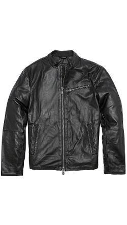 John Varvatos Star USA  - Moto Leather Jacket
