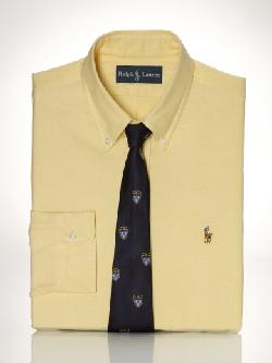 POLO RALPH LAUREN - Custom-Fit Luxury Oxford