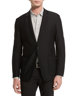 Armani Collezioni  - Textured Two-Button Jacket