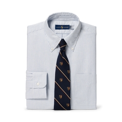 Ralph Lauren - Slim Fit Striped Oxford Shirt