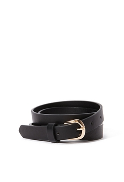Forever 21 - Classic Faux Leather Belt