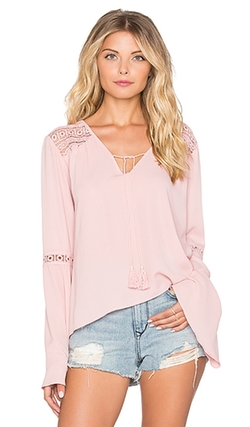 Band Of Gypsies  - Bell Sleeve Blouse