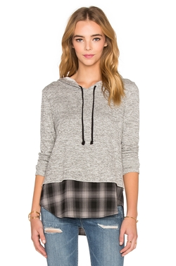 Generation Love - Chester Plaid Hoodie