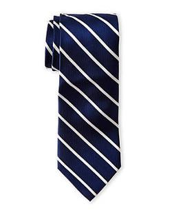 Isaac Mizrahi  - Fine Stripe Tie