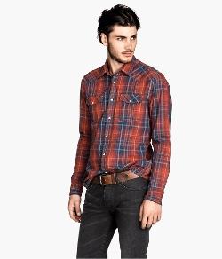 H&M - Plaid Shirt