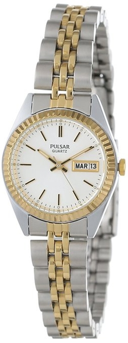 Pulsar - Two Tone Stainless Steel Watch