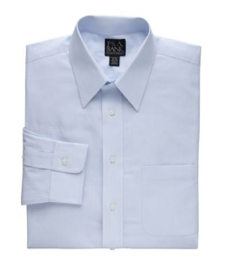 Jos. A. Bank - Traveler Tailored Fit Point Collar Fineline Dress Shirt