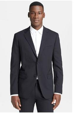 Theory - Trim Fit Wrinkle Resistant Travel Suit