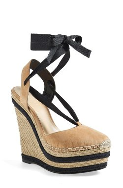 Gucci - Alexis Wedge Espadrille Sandals