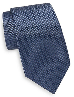 Saks Fifth Avenue  - Silk Woven Square Tie