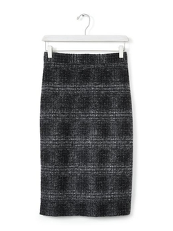 Banana Republic - Plaid Pencil Skirt