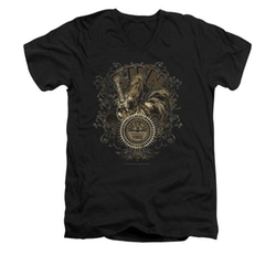 Sons of Gotham  - Sun Records Scroll Around Rooster T-Shirt