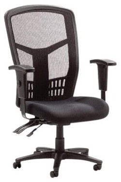 Lorell Executive - High-Back Mesh Fabric Chair