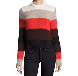 Rag & Bone - Britton Striped Ribbed Sweater
