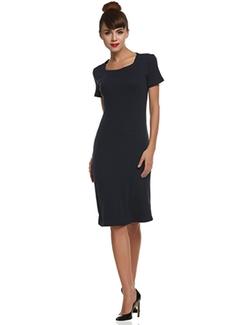 Boylymia  - Designer Dress Short Sleeve Mini Slim Sundress