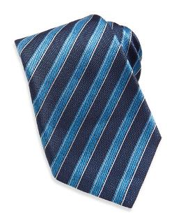 Kiton  - Rope-stripe Woven Tie