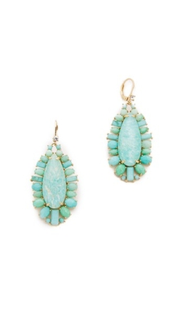 Kate Spade New York - Seastone Sparkle Statement Earrings