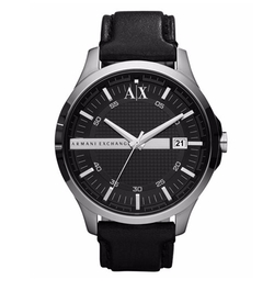 A|X Armani Exchange - Leather Strap Watch