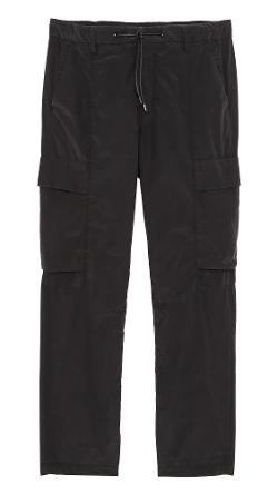 J Brand  - Relaxed 3.1oz Cargo Pants with Drawstring