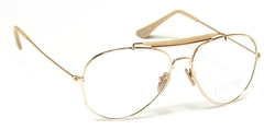 In Touch With Style  - Metal Frame Clear Lens Eyeglasses