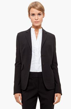 Akris Punto  - Two Button Long Wool Jacket