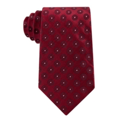 Stafford - Executive Circular Medallion Silk Tie