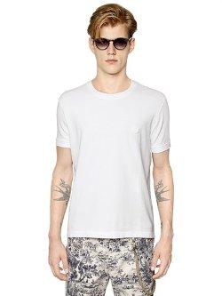 Lardini  - Cotton Piqué T-shirt