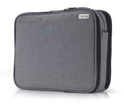 iHome Smart Brief - Laptop Briefcase, Heathered Grey