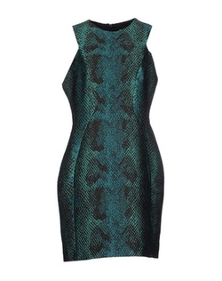 Versace Collection - Short Jacquard Dress
