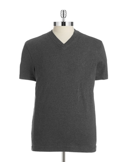 Hudson North - V-Neck Cotton Tee Shirt