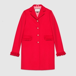 Gucci - Single-Breasted Wool Coat