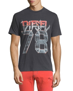 Diesel - Short-Sleeve Graphic Tee