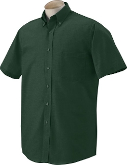 Van Heusen - Short Sleeve Oxford Dress Shirt