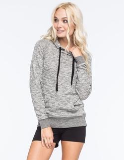 Full Tilt - Essential Marled Womens Pullover Hoodie
