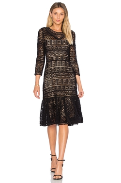 Rebecca Taylor - Long Sleeve Lace Dress