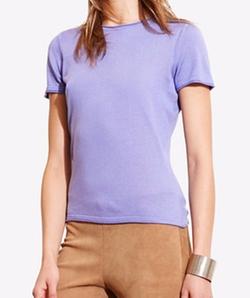 Lauren Ralph Lauren  - Short-Sleeve Sweater T-Shirt